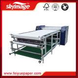 machine de presse de la chaleur de rouleau de grand format de 600*1700mm