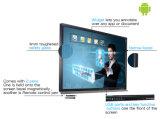 Téléconférence interactive de moniteur d'écran tactile d'application d'école