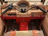 Lleno de agua de refrigeración cerrado gasolina triciclo pasajero