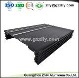 Perfil de aluminio Disipador de calor de los materiales de construcción