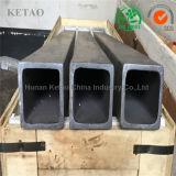 킬른 가구/세라믹 롤러를 위한 실리콘 탄화물 사각 관/Sic 광속