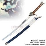 Liga da espada de Lol Yasuo da espada 106cm HK8505 da legenda