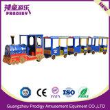 Tren Eléctrico de ferrocarril tren del parque temático para niños Ride