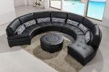 Sofà di cuoio domestico moderno 8063# della mobilia del salone