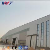 Amplia gama de almacén de estructura de acero prefabricadas con grúa