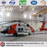 Sinoacme große Überspannungs-vorfabrizierter Stahlrahmen-Flugzeug-Hangar