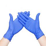Порошок свободного нитриловые перчатки исследования