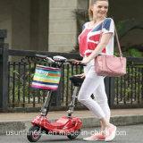 Piezas plegables de equilibrio del empuje 1 plástico lleno de la suciedad de los niños de la bici del plástico del precio competitivo mini con la vespa del asiento