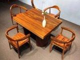 단단한 나무 탁상용, 일 상단, 테이블