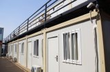 Casa prefabricada del envase del estilo de la casa de playa del bajo costo DIY de los kits modernos del duplex