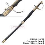 As espadas européias que comandam a espada cerimonial Rússia da espada comandam a espada 95cmhk8240