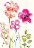 يزهر زهرة [أيل بينتينغ] زخرفة فنيّة بينيّة