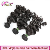 Formguangzhou-Nerz-Jungfrau-Haar-brasilianische Haar-Menschenhaar-Extension