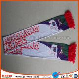 Sciarpe di pubblicità stampate lavabili su ordinazione di calcio