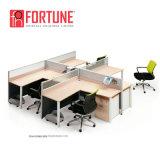 現代オフィス用家具2人のオフィスのキュービクルワークステーション(FOH-SS3050-3134)