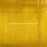 Matériaux r3fléchissants de collant de nid d'abeilles de vente d'or de vinyle r3fléchissant chaud de jaune