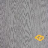 Papier imbibé par mélamine décorative des graines en bois de chêne blanc pour le placage, la porte et les meubles du constructeur chinois