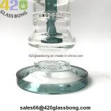 """13.2 """" unbesonnenes GlasWaterpipe 420 Rauch-Rohr-Glasrohr mit Quallen Perc"""