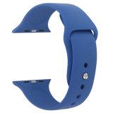 Cinghia del cinturino della gomma di silicone di alta qualità per la vigilanza del Apple