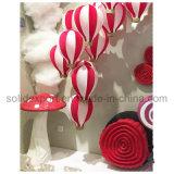 As escoras de Exibição da janela de beleza da Primavera Shopping Mall decoração cogumelo de Espuma