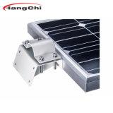 El ahorro de energía solar LED Luces de jardín al aire libre con la integración de los paneles solares