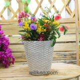Crisol de flor Shaped de la magnesia de la nueva cesta para la decoración del hogar y del jardín
