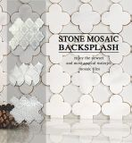 يجلّخ يصقل أثر قديم طبيعيّة حجارة رخام [موسيك تيل] لأنّ داخلية