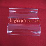 Placa de vidro opaca elevada de quartzo