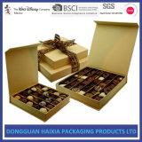 초콜렛 포장을%s 엄밀한 자석 뚜껑 종이 사탕 선물 상자