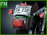 Крышка света кабеля задего крома спайдера на Harley 1973-2012