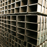 강철 구조물을%s S355jr S235jr 탄소 강철 사각 배관