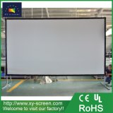 300インチの野外活動のための大きい携帯用前部映写幕か屋外プロジェクタースクリーン