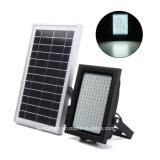 屋外の庭IP65はマイクロウェーブレーダーセンサー150 LEDの太陽動力を与えられた洪水ライトを防水する