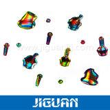 prix d'usine adhésives fortes dôme ronde Crystal coloré autocollant époxy
