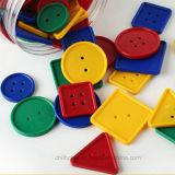 Juguetes educativos, Botón plástico (ZH-ET001) A