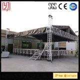 Водоустойчивая крыша PVC связывает алюминиевую конструкцию структуры ферменной конструкции для согласия