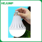 9W AC Power LED Recarregável Lâmpada de Emergência