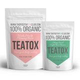 El alza y la noche orgánicas de la mañana del té del 100% limpian Teatox (el programa de 28 días)