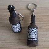Pvc Keychain, Embleem Keychain van Smirnoff van de douane voor Promotie, past Rubber Zeer belangrijke Ketting aan