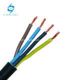 Sous le PVC multi du faisceau 1kv fil électrique isolé