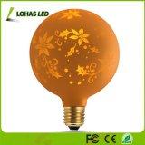 Novela 1.4W G125 Globe Lámpara LED de luz blanca cálida E26 2700K para la fiesta de Halloween