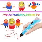 LCDスクリーン3Dのペンの子供の誕生日プレゼントはおもちゃ3Dプリンターをからかう