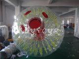 TPU/PVC aufblasbare bunte Gras Zorb Kugel für Verkauf