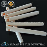 Tube d'alumine réfractaires à haute température ou d'alumine rouleau en céramique pour four industriel