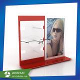 En acrylique transparent présentoirs de lunettes, lunettes de soleil en plexiglas afficher