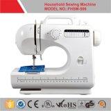 Máquina de coser doméstica del punto de cadeneta del zigzag (FHSM-506) con 12 modelos de la puntada