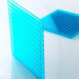 Placa diferente da parede do gêmeo da folha do policarbonato do painel da divisória do espaço da espessura