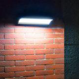48 LED Arcuated más reciente del sensor de radar de microondas Jardín de Luz Solar de aleación de aluminio 4 modos de trabajo