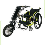 Ausrüstungs-manueller Rollstuhl zusätzlicher Handcycle Fahrrad-Schlussteil