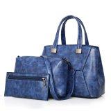 Vintage Saco de 3 peças de couro PU define conjuntos de bolsas para Mulheres